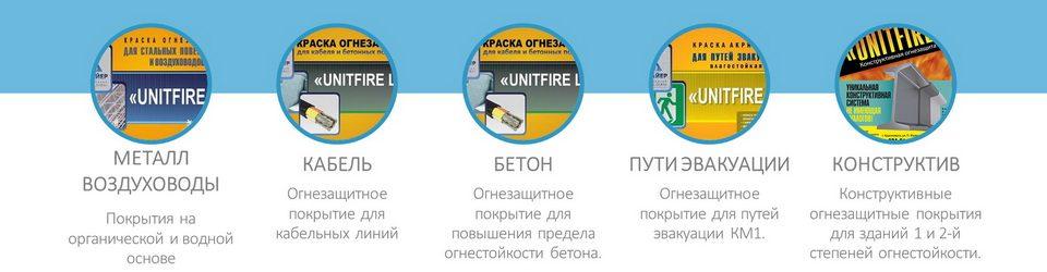 UNITFIRE — Огнезащитные покрытия от сибирского производителя